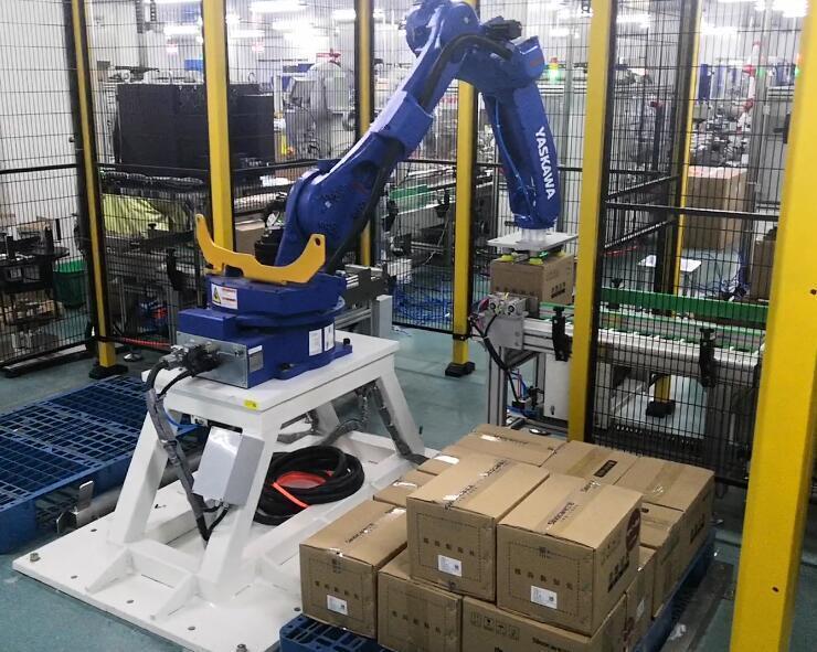 码垛机器人如何提高生产效率