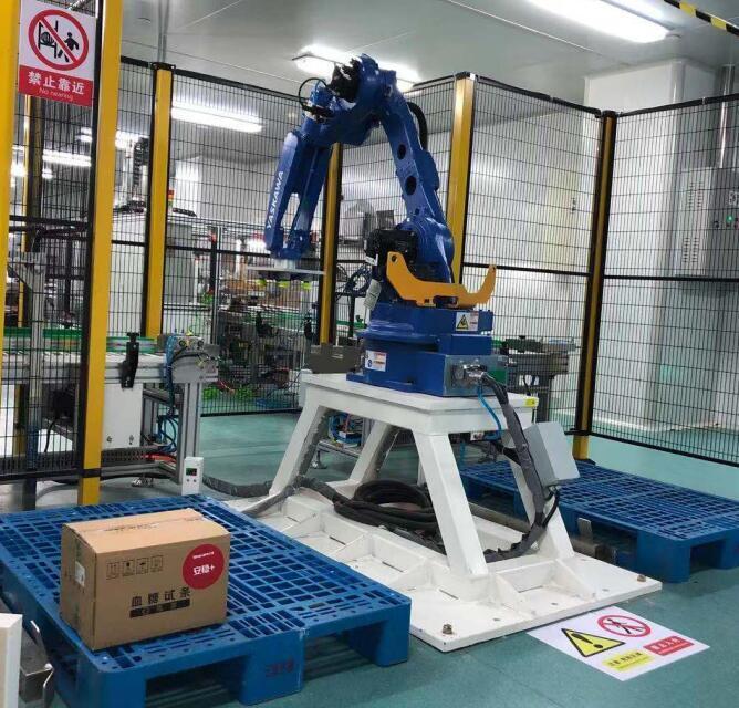 可靠的机器人码垛机有助于减少人工