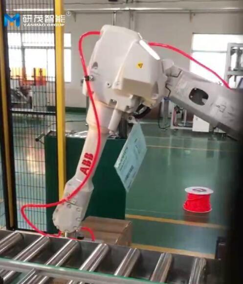 机器人码垛机如何提高生产率